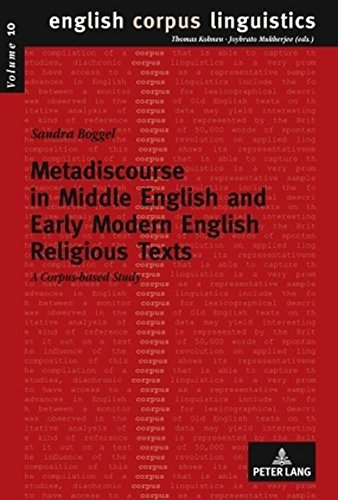 9783631589861: Metadiscourse in Middle English and Early Modern English Religious Texts: A corpus-based study (English Corpus Linguistics)