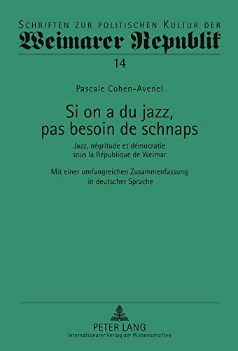 Si on a du jazz, pas besoin de schnaps: Pascale Cohen-Avenel
