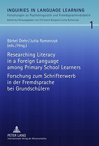 9783631595008: Researching Literacy in a Foreign Language among Primary School Learners- Forschung zum Schrifterwerb in der Fremdsprache bei Grundschülern (Inquiries ... Learning) (English and German Edition)