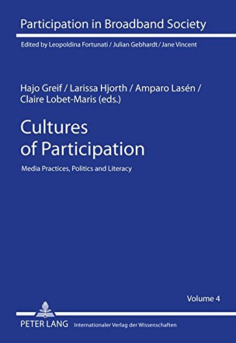 9783631596746: Cultures of Participation: Media Practices, Politics and Literacy (Participation in Broadband Society)