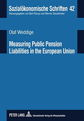 9783631602737: Measuring Public Pension Liabilities in the European Union (Sozialökonomische Schriften)