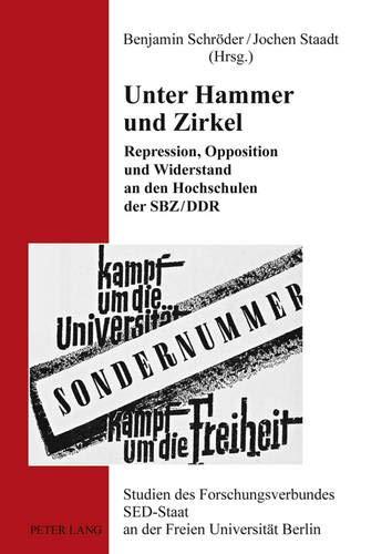 Unter Hammer und Zirkel: Benjamin Schr�der