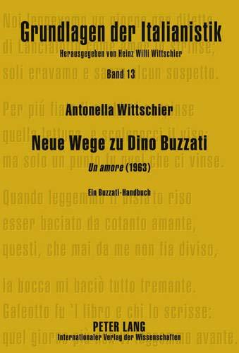 9783631605455: Neue Wege zu Dino Buzzati: