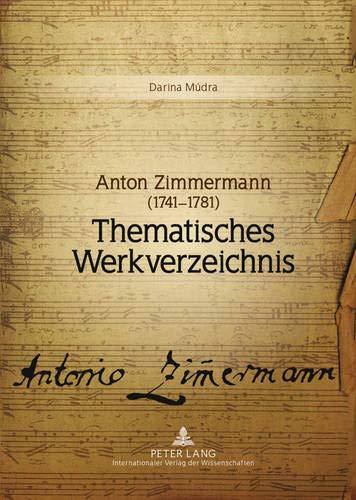 Anton Zimmermann (1741-1781): Darina M�dra