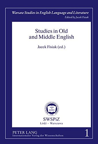 Studies in Old and Middle English: Jacek Fisiak