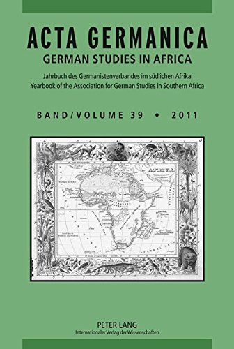 Acta Germanica 2011: German Studies in Africa: Carlotta von Maltzan