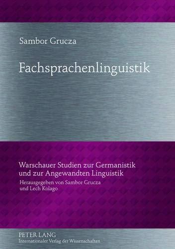 9783631631225: Fachsprachenlinguistik