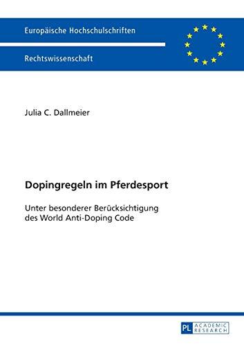 Dopingregeln im Pferdesport: Julia C. Dallmeier