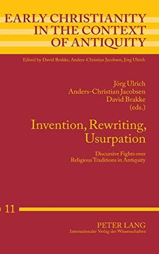 Invention, Rewriting, Usurpation: Joerg Ulrich, Anders-Christian Jacobsen, David Brakke,