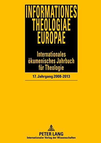 Informationes Theologiae Europae (German Edition): n/a