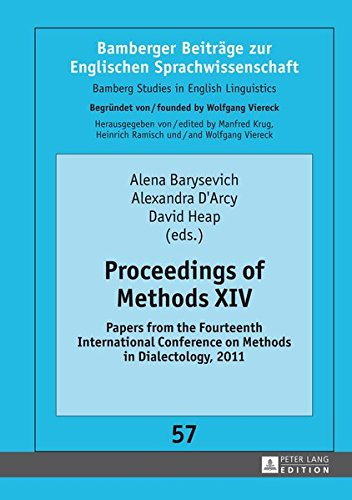 Proceedings of Methods XIV Papers from the: Barysevich, Alena /