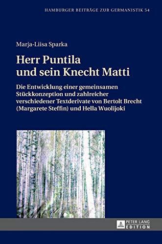 Herr Puntila und sein Knecht Matti - von S Mews by Brecht, Bertolt 3425060767