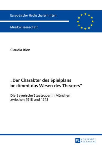 Der Charakter des Spielplans bestimmt das Wesen des Theaters»: Claudia Irion