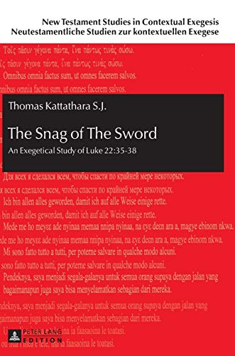 The Snag of The Sword: An Exegetical Study of Luke 22:35-38 (New Testament Studies in Contextual ...