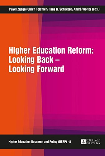 9783631662755: Higher Education Reform: Looking Back – Looking Forward (Higher Education Research and Policy)
