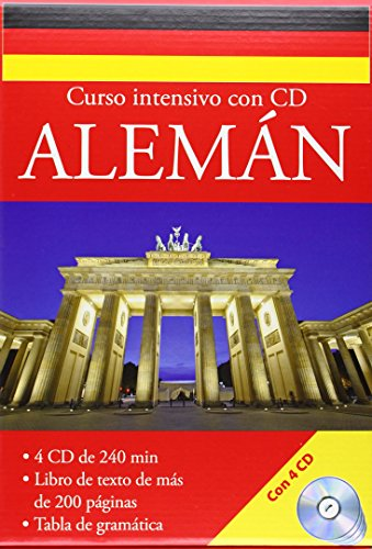 9783632988472: German: Intensive Language Course (Book and 4-CDs)