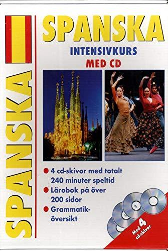 9783632988489: ESPAGNOL METHODE INTENSIVE D'ESPAGNOL AVEC CD