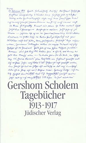 9783633540914: Tagebücher 1. Halbband 1913 - 1917: Nebst Aufsätzen und Entwürfen bis 1923