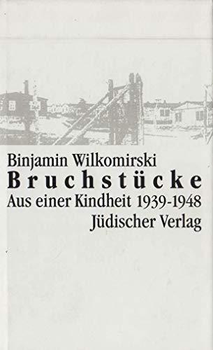 9783633541003: Bruchstucke: Aus einer Kindheit 1939-1948 (German Edition)
