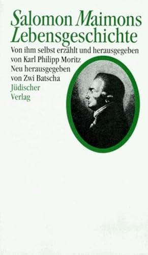 9783633541041: Salomon Maimons Lebensgeschichte.