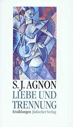 Liebe und Trennung: Erzählungen: Samuel Joseph Agnon