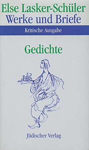Gedichte: Else Lasker-Sch�ler