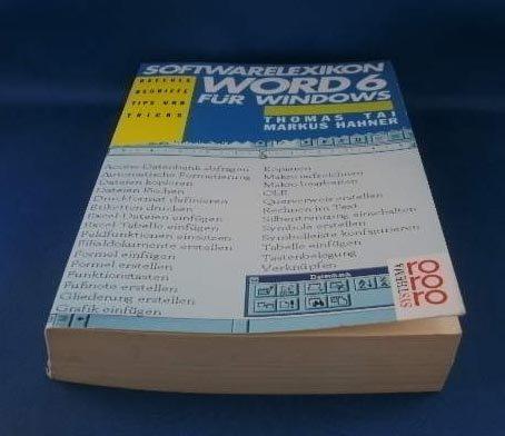 Softwarelexikon Word 6 für Windows