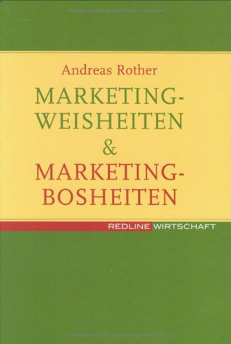 9783636012753: Marketingweisheiten & Marketingbosheiten