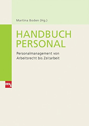 9783636030498: Handbuch Personal