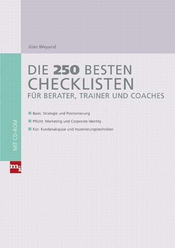 9783636031150: Die 250 besten Checklisten für Berater, Trainer und Coaches
