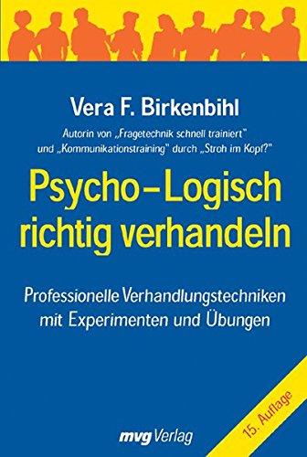 9783636070616: Psycho-logisch richtig verhandeln
