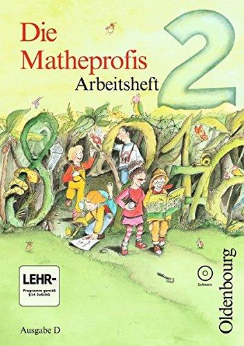 9783637001855: Die Matheprofis D 2. Arbeitsheft mit CD-ROM: Neubearbeitung f�r Baden-W�rttemberg, Berlin, Brandenburg, Bremen, Hamburg, Hessen, ... Sachsen, Sachsen-Anhalt, Schleswig-Holstein