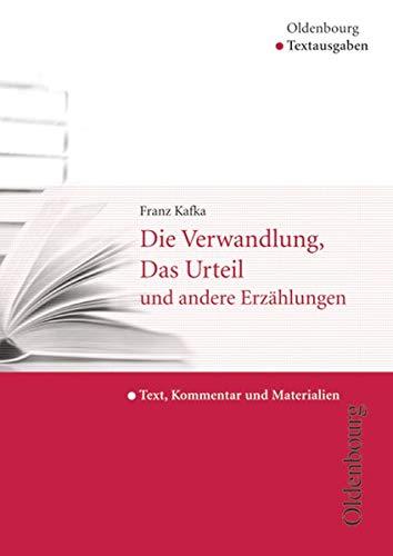 9783637006041: Die Verwandlung, Das Urteil und andere Erzählungen: Text, Kommentar und Materialien