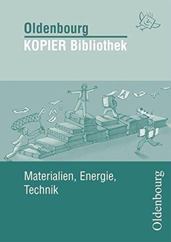 9783637006478: Materialien, Energie, Technik: Kopier Bibiliothek