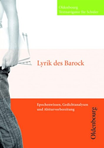 9783637012974: Lyrik des Barock