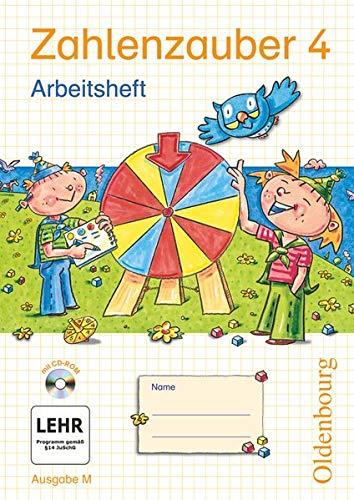 Zahlenzauber M 4 Arbeitsheft mit CD-ROM: Bettina Betz; Ruth