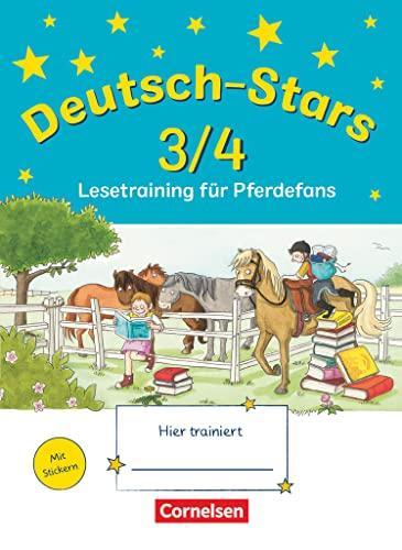 9783637015074: Deutsch-Stars 3./4. Schuljahr. Lesetraining für Pferdefans