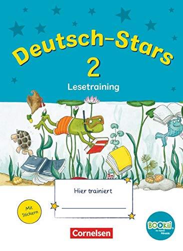 9783637017597: Deutsch-Stars 2. Schuljahr Lesetraining. Ting-Ausgabe: Übungsheft mit Tingfunktion