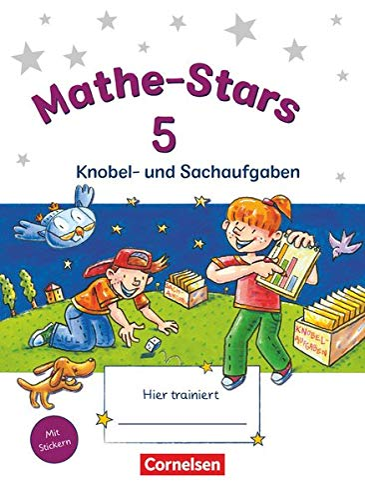 9783637017986: Mathe-Stars 5. Schuljahr. Knobel- und Sachaufgaben: �bungsheft mit L�sungen
