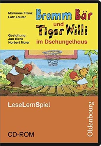 """Bromm B""""r und Tiger Willi im Dschungelhaus. Leseschule Fibel. Lernspiel. CD-ROM f�r Windows 2000&#..."""