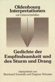 9783637886568: Gedichte der Empfindsamkeit und des Sturm und Drang. Interpretationen