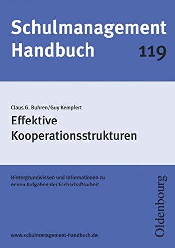 9783637913066: Schulmanagement-Handbuch Band 119: Effektive Kooperationsstrukturen