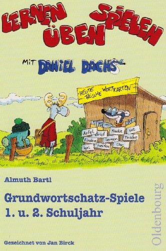9783637987937: Grundwortschatzspiele 1. und 2. Schuljahr: Lernen, Spielen, �ben mit Daniel Dachs