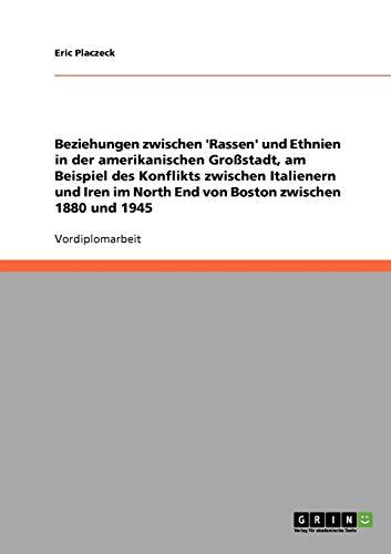 Beziehungen Zwischen 'Rassen' Und Ethnien in Der Amerikanischen Grossstadt, Am Beispiel ...
