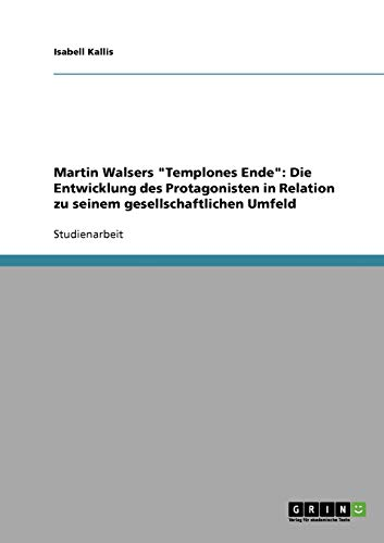 9783638662208: Martin Walsers