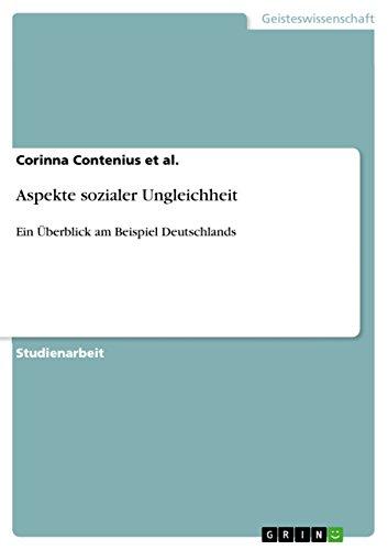 9783638662413: Aspekte sozialer Ungleichheit (German Edition)