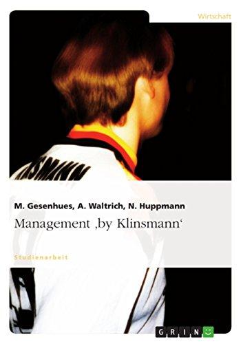 9783638677936: Management 'by Klinsmann' (German Edition)