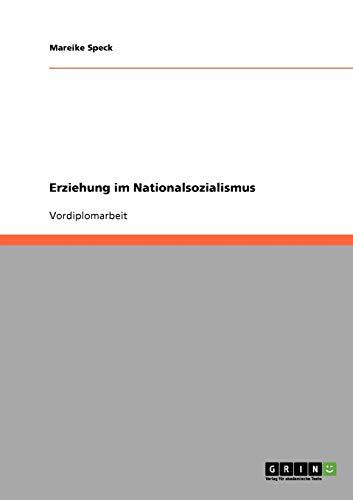 9783638691192: Erziehung im Nationalsozialismus