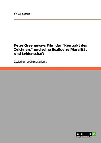 9783638705899: Peter Greenaways Film der