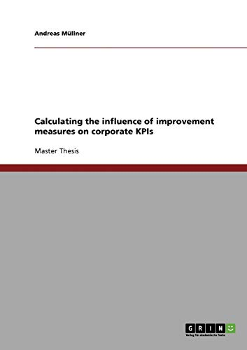 Calculating the Influence of Improvement Measures on Corporate Kpis: Andreas Mullner